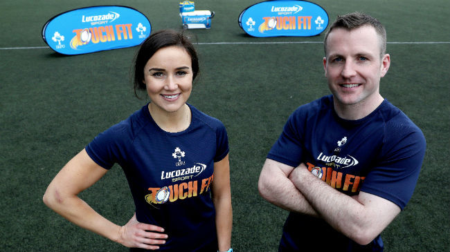 Made To Move With 'Lucozade Sport Touch Fit'