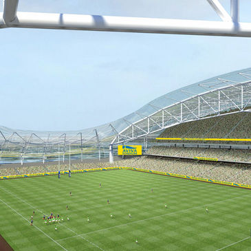 The Aviva Stadium has been unveiled