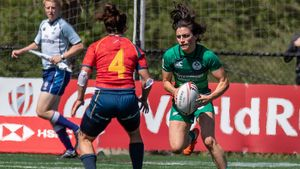 HSBC World Rugby Women's Sevens Series - Round 4, Westhills Stadium, Langford, Canada, Saturday, May 12, 2018