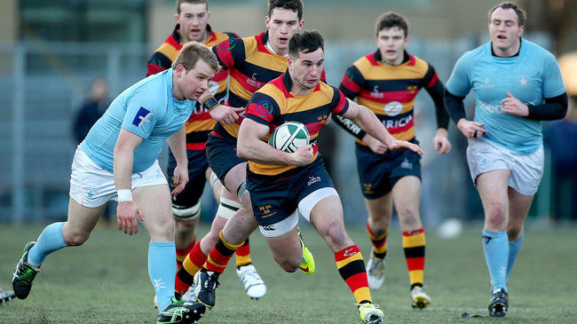Action from Lansdowne's win at home to Garryowen