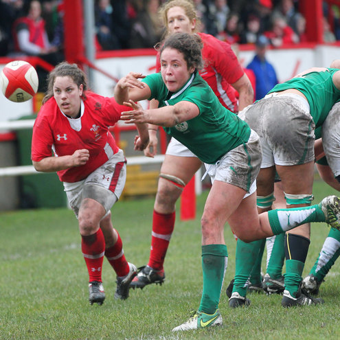 Ireland scrum half Larissa Muldoon