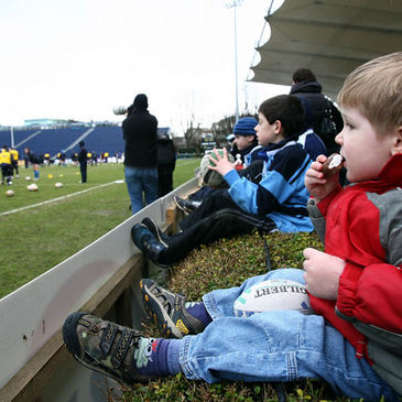 Young and old ventured to the RDS to watch Leinster train