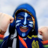 Alex Whelan was one of the most colourful Leinster fans on view at Stade Marcel Michelin on Sunday