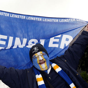 Leinster fan John Martin