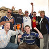 'Molly Malone', 'Allez les Bleus', 'Stand up for the boys in blue', Leinster are taking over Edinburgh