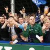 'Molly Malone' and 'Allez les Bleus' were belted out quite often as the Leinster fans toasted their team's semi-final qualification