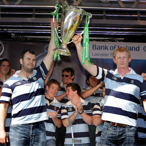 Leinster's Heineken Cup Homecoming, The RDS, Sunday, May 24, 2009