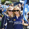 Lynda Mangan and Deirdre Dennehy from Rathfarnham came well prepared with their sunglasses