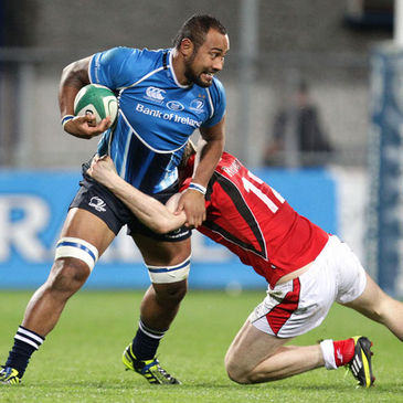Leo Auva'a in action for the Leinster 'A' side