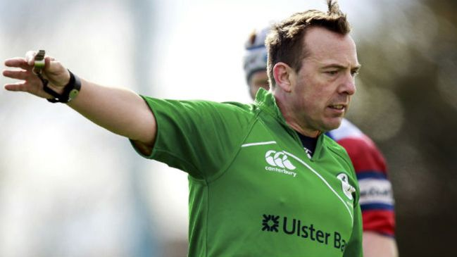IRFU Referee Appointments: October 28-29