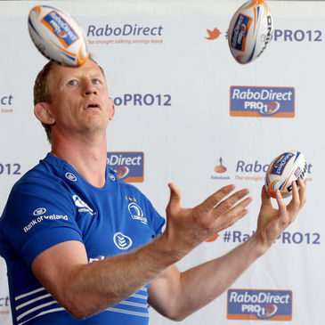 Leinster's Leo Cullen at the launch of the new season