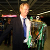 Wicklow man Leo Cullen beams as the newly-crowned Heineken Cup champions are cheered through the airport