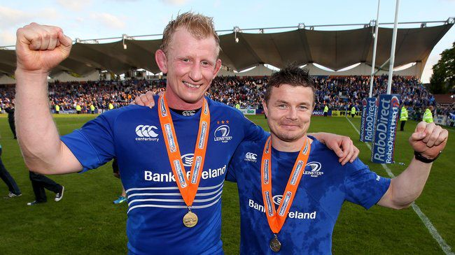 Title Winning Send-Off For Cullen And O'Driscoll