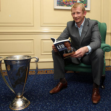 Leo Cullen launched 'A Captain's Story' recently