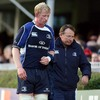 Leinster captain Leo Cullen also had to be helped off after fracturing his collarbone