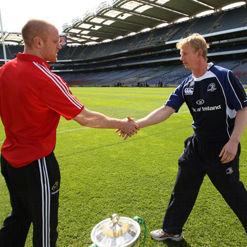 Heineken Cup Build-Up: The Captains Meet At Croke Park, Friday, May 1, 2009