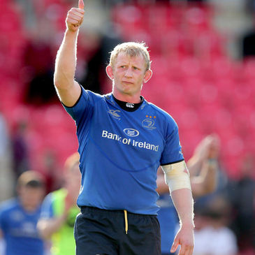 Leinster captain Leo Cullen