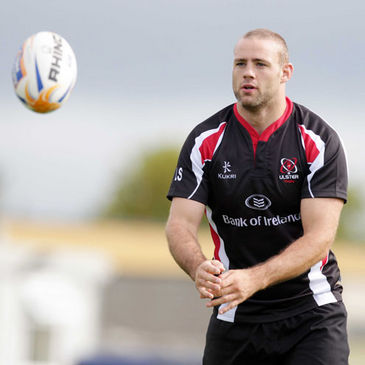 Ulster's stand-in captain Lewis Stevenson