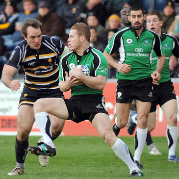 Liam Bibo in action for Connacht against Worcester