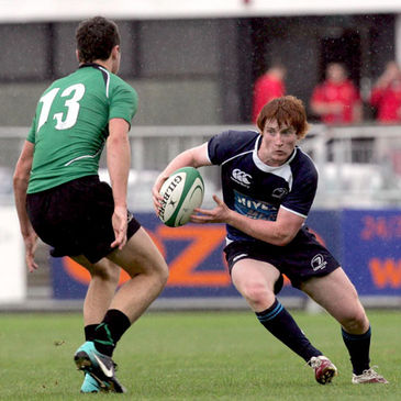 Navan and Leinster's Liam Bourke