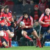 Centre Lifeimi Mafi has plenty of support as he tries to counter attack for Munster