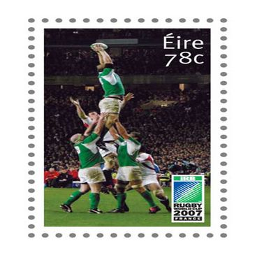Line Out Stamp