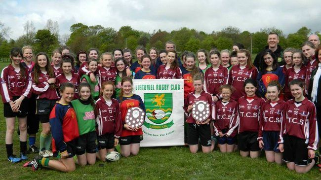 Some of the girls who participated in the Listowel Blitz