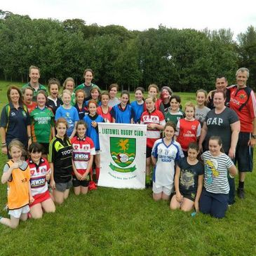 Girls rugby is building momentum at Listowel RFC