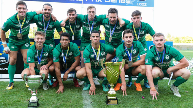 The Ireland men won the tournament and the overall series