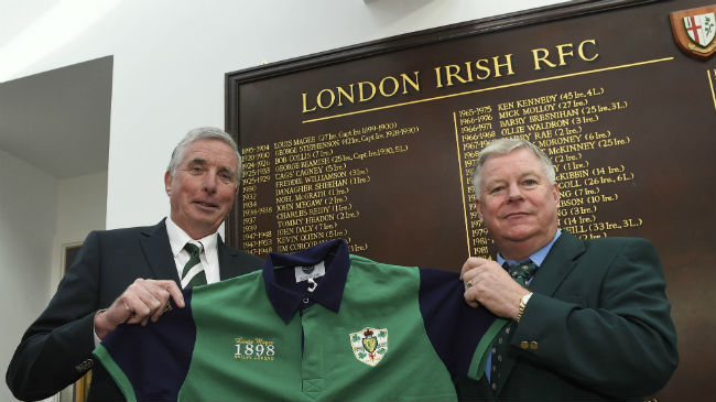 Magee's Long Association With London Irish Continues