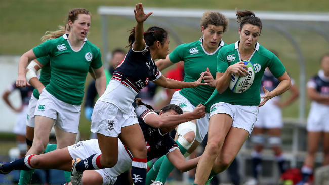 Ireland Women's Sevens Squad For Sydney