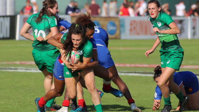 Tough Run Of Results For Ireland Women In Dubai 7s Play-Offs