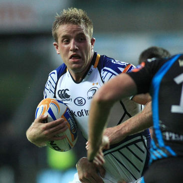 Luke Fitzgerald in RaboDirect PRO12 action