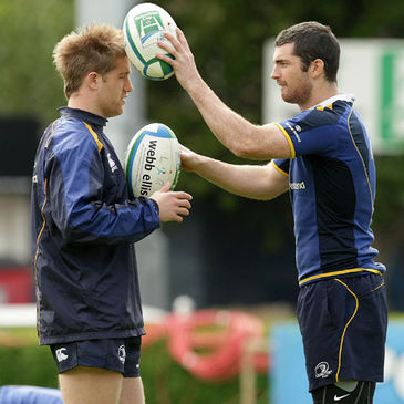 Leinster backs Luke Fitzgerald and Rob Kearney