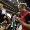 Some of Ireland's future stars might have been amongst the crowd as Luke Fitzgerald and the current squad signed autographs