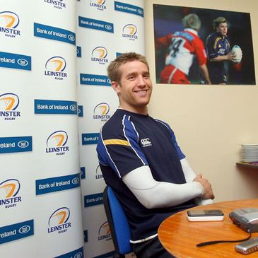 Luke Fitzgerald at a press conference this week
