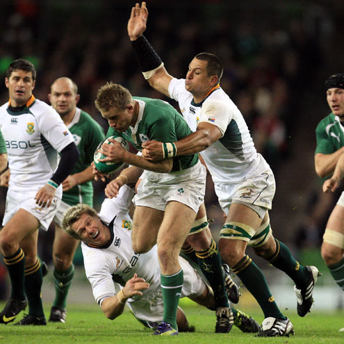 Photos of Ireland's GUINNESS Series clash with the Springboks