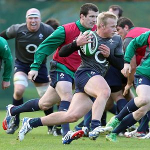 Ireland Squad Training Session At Carton House, Maynooth, Thursday, November 14, 2013