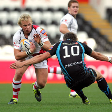 Luke Marshall featured at inside centre for Ulster