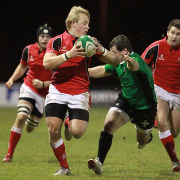Luke Marshall in action against Neath