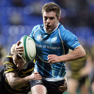 Scrum half Luke McGrath in action for Leinster 'A'