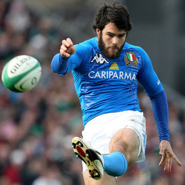 Italy full-back Luke McLean