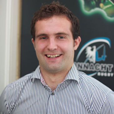 Connacht Rugby's Lyndon Jones