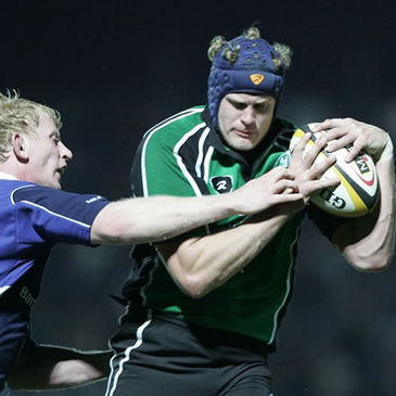 Connacht captain Andrew Farley in action against Leinster