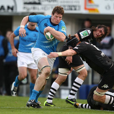 Leinster's Malcolm O'Kelly in action against Brive