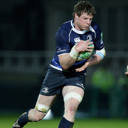 Malcolm O'Kelly will line out for Leinster in Saturday's British & Irish Cup tie
