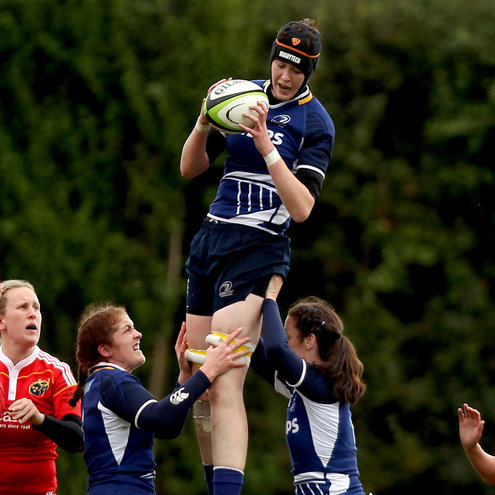 Marie Louise Reilly captained Leinster to an opening win in Galway