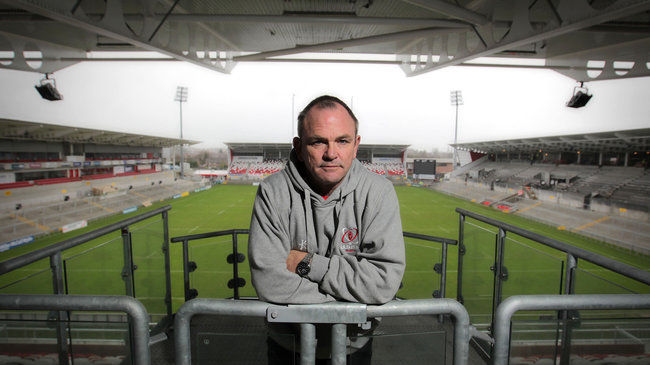 Ulster head coach Mark Anscombe