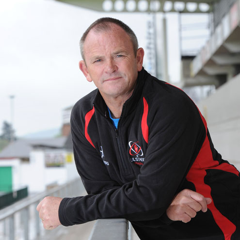 Newly-appointed Ulster head coach Mark Anscombe