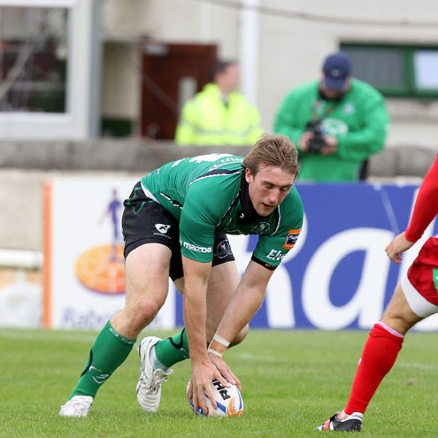 Mark McCrea scored a crucial try for Connacht against the Scarlets
